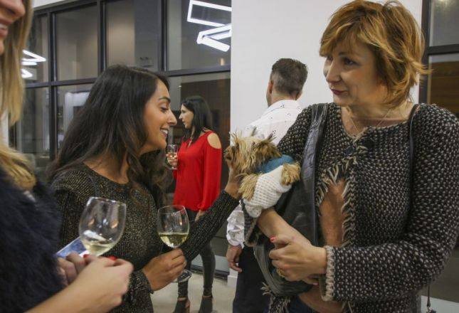 Wine and Conversation at LEICHT showroom